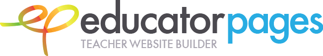 Educator Pages, Teacher Website Builder